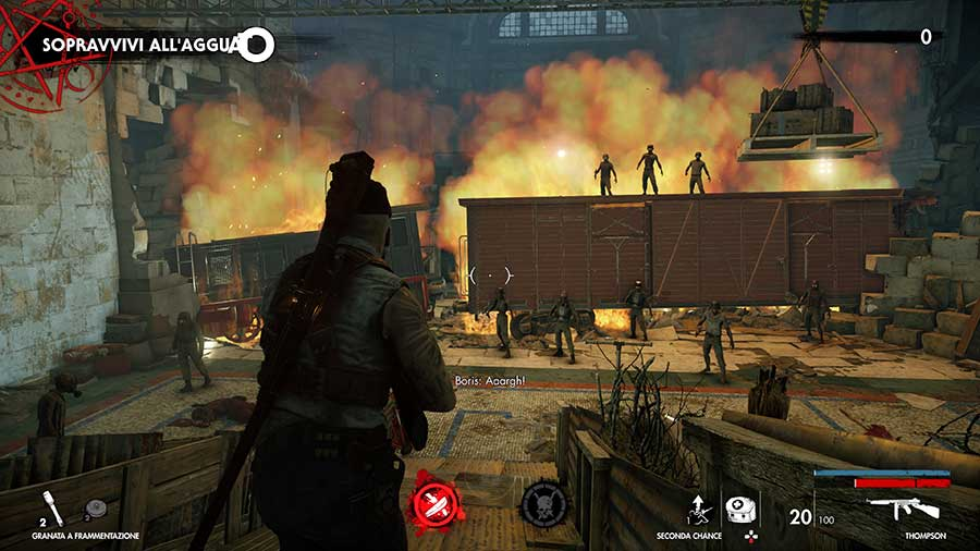 Zombie Army 4 Dead War recensione ps4-